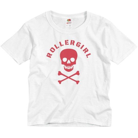 Rollergirl Skull