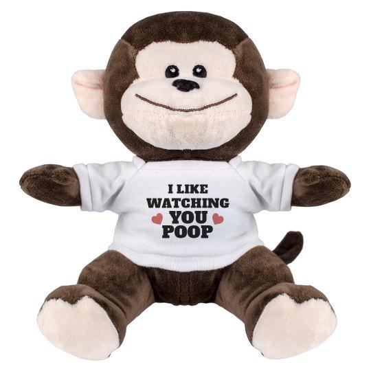 Romantic Bathroom Monkey