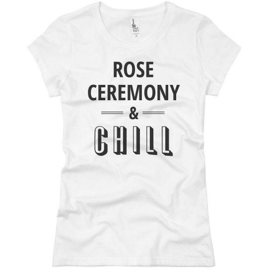 Rose Ceremony & Chill Bachelor Fan