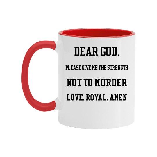 Royal Prayer Mug