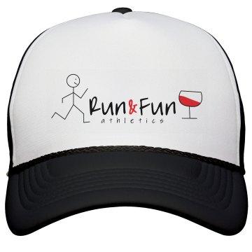 Run & Fun wine Trucker Hat