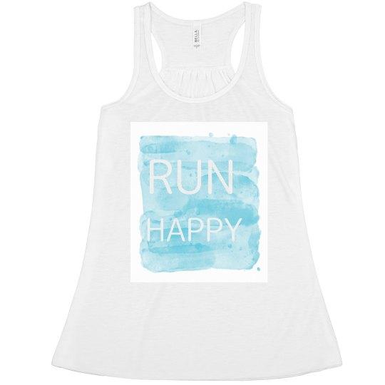 Run Happy tank