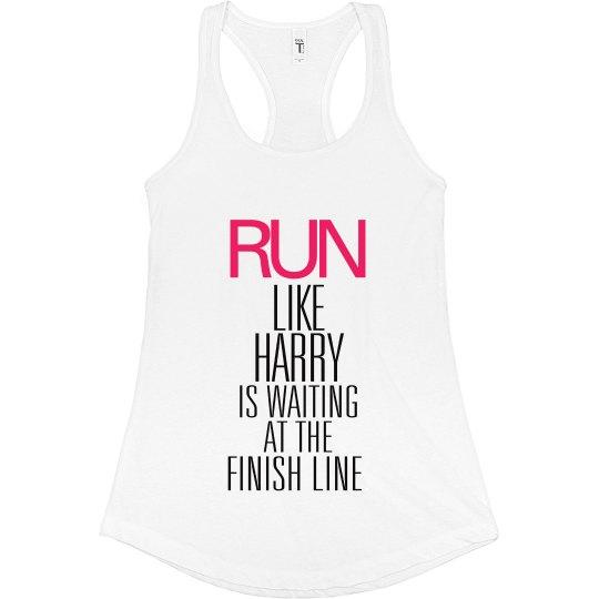 Run Harry Finish Line