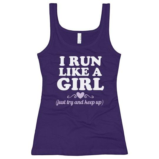 Run Like A Girl