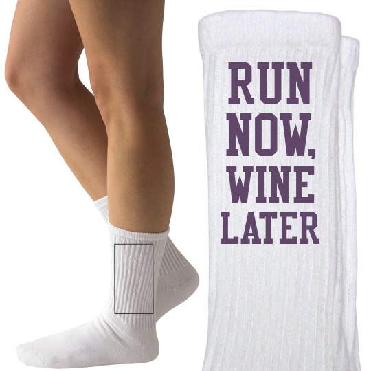 Run Now, Wine About it Later