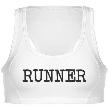 """""""Runner"""" Sports Bra"""