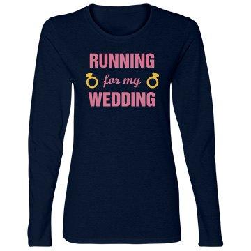 Running for my Wedding