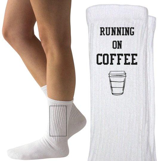 running on coffee