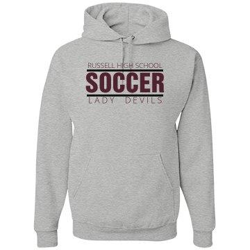 Russell High School Soccer LD Hoodie
