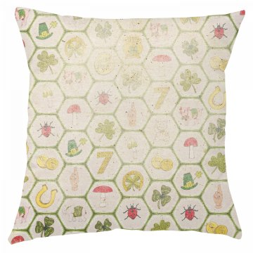 Rustic St. Patrick's Day Pillow Cover