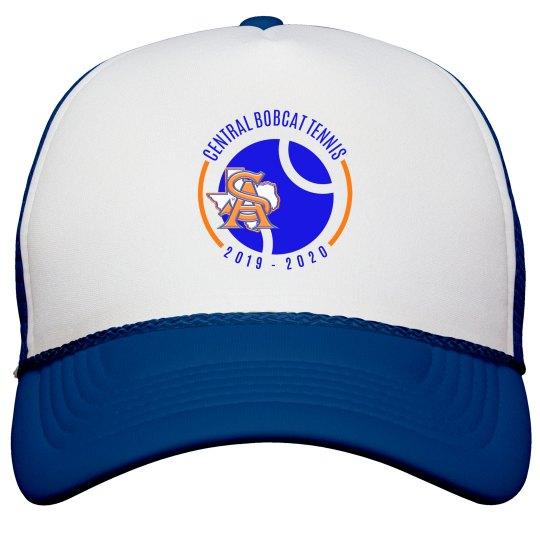 SA TX logo blue hat