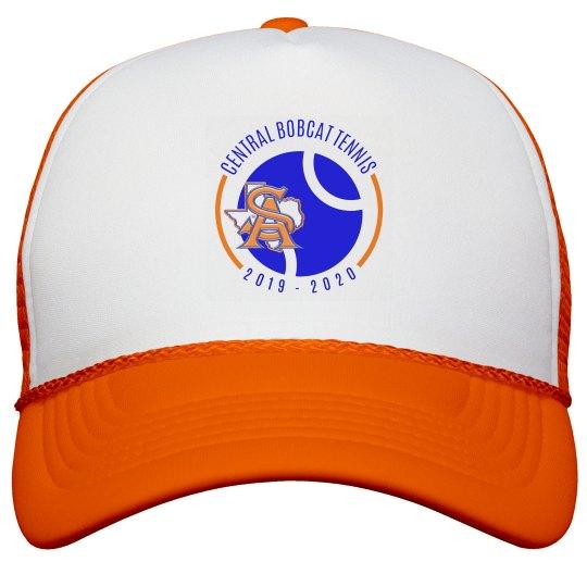 SA TX logo two orange hat