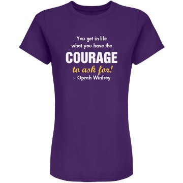 Sacred Time Courage Tee