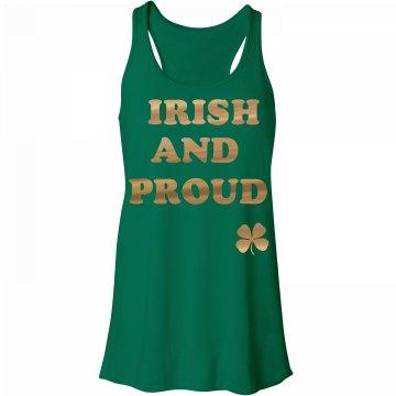 Saint Patricks Day Proud Irish