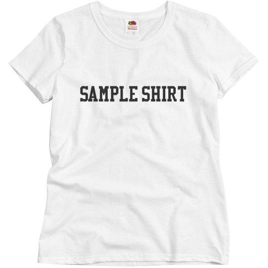 Sample shirt
