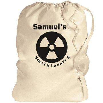 Samuel's Laundry bag!