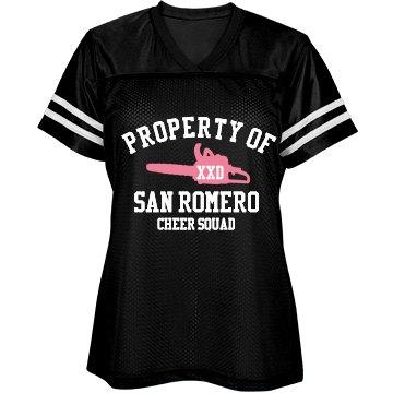 San Romero Cheer Jersey