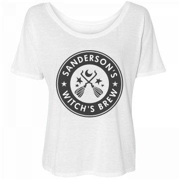 Sanderson's Witch's Brew Coffee Logo