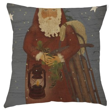 Santa Claus Christmas Pillow Cover