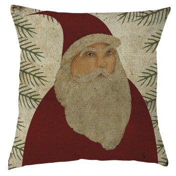 Santa Claus Christmas Pillow Cover