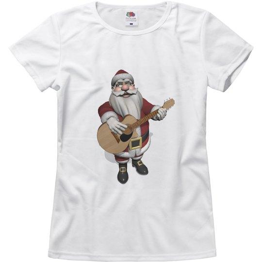Santa Claus Guitarist