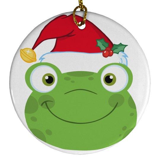 Santa Frog