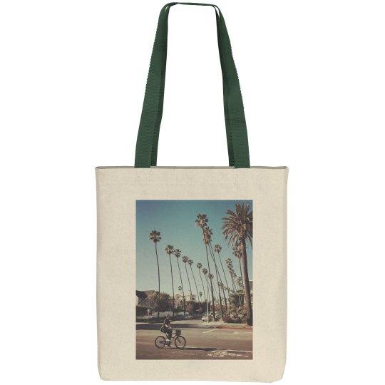 Santa Monica way (tote bag)