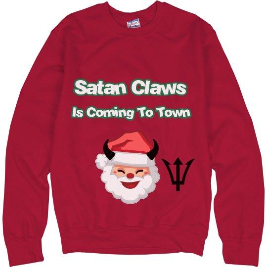 Santa's coming to town sweatshirt