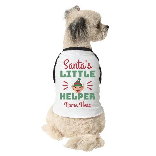 Santa's Little Dog Helper