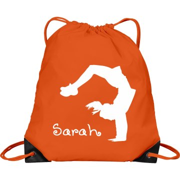 Sarah cheerleader bag