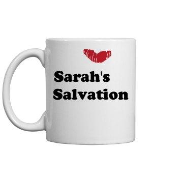 Sarah's Salvation Mug
