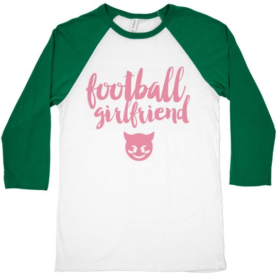 Sassy Football Girlfriend