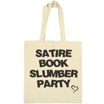 Satire book slumber party