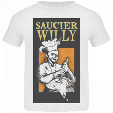 Saucier Willy Logo Toddler T-Shirt
