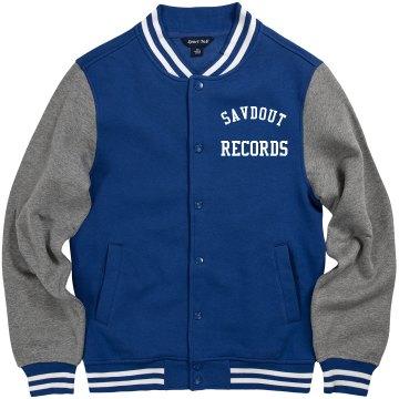 Savdout letter men jacket