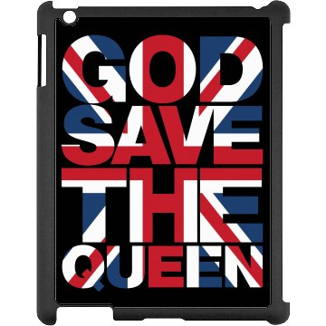 Save The Queen iPad Case
