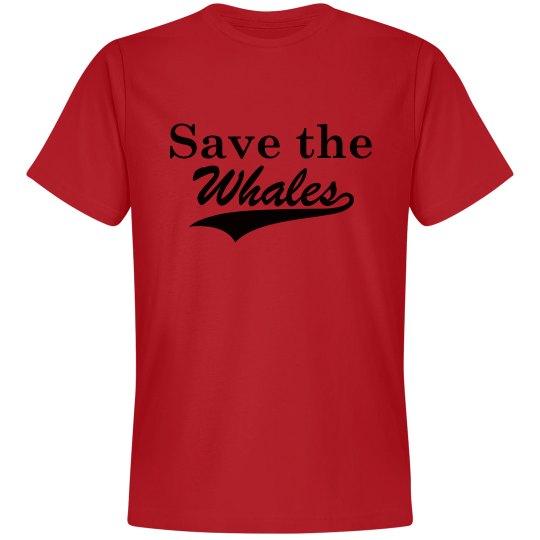 Save the Whales, Premium Shirt