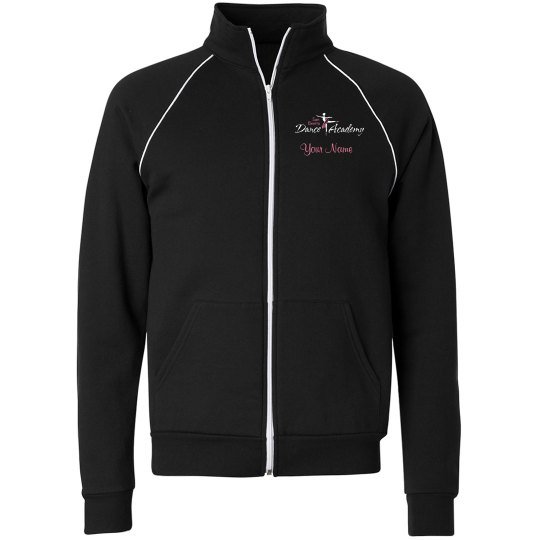 SBDA warm up jacket - unisex PINK lettering