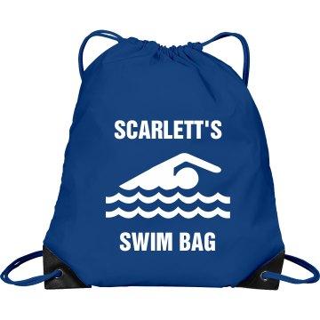 Scarlett's swim bag