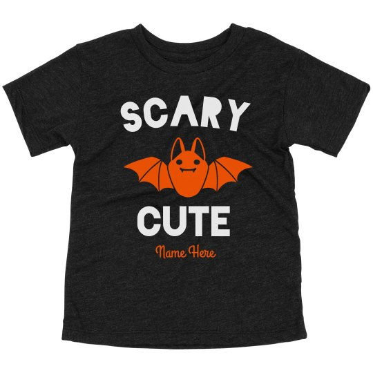 Scary Cute Custom Toddler Tee
