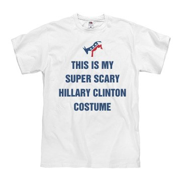 Scary Hillary Costume For Halloween