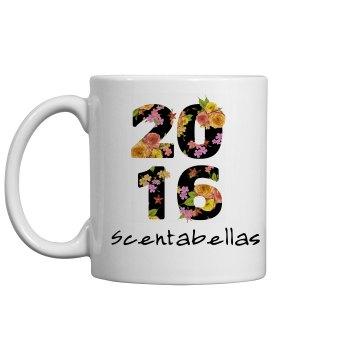 Scentabellas 2016 floral mug