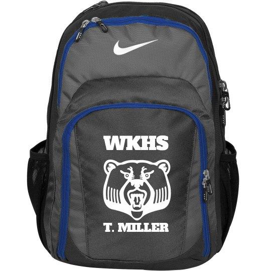 School Bear Mascott