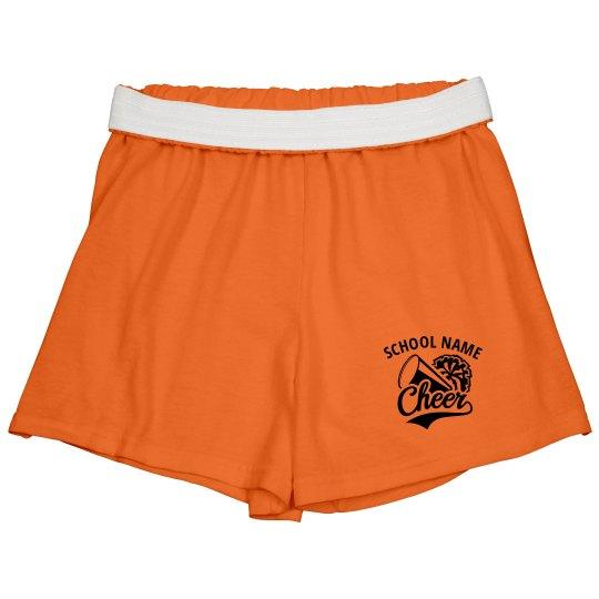 School Cheer Pom Shorts
