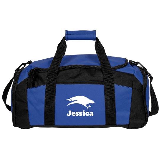 School Colors and Mascot Custom Sports Bag