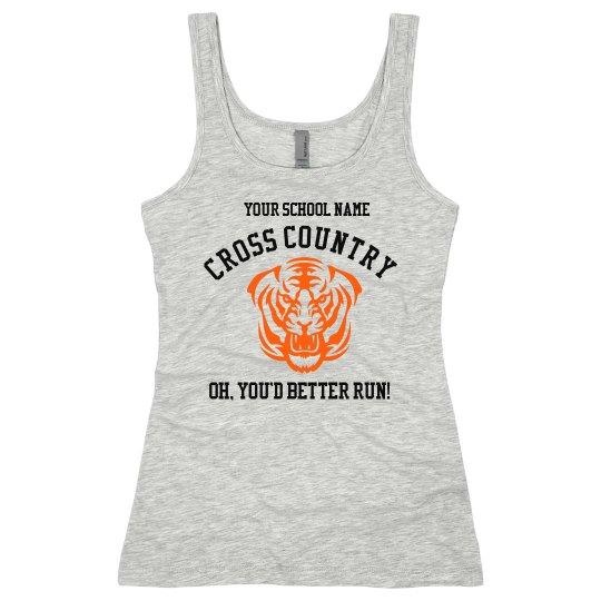 School Cross Country Fan
