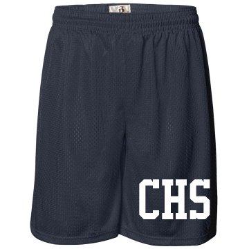 School Initial Shorts