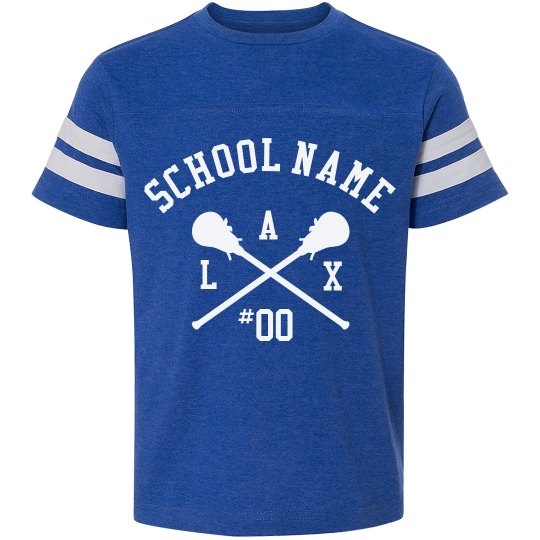 School Lacrosse Custom Tee