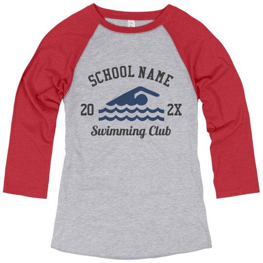 School Name Swim Team