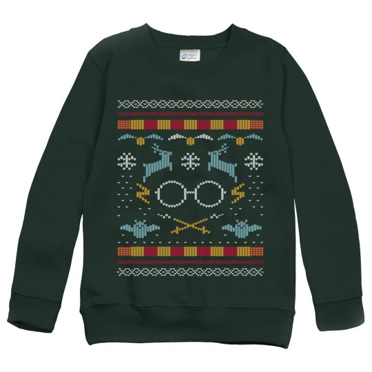 School of Wizardry Ugly Sweater